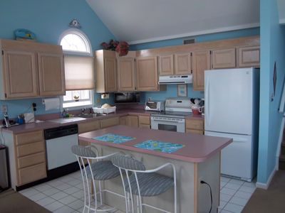 Ocean City South End condo rental - Kitchen
