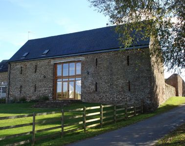 Llanrothal barn rental - Old Orchard Barn, Tregate