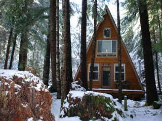Your base camp for a trip to crystal mountain for Crystal mountain cabin rentals