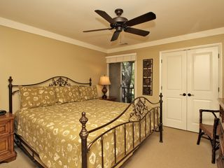 Forest Beach condo photo - Second Master Bedroom with Ceiling Fan
