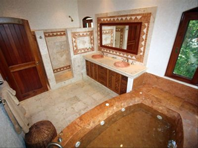 En Suite Master Bathroom with Jacuzzi Tub and Shower