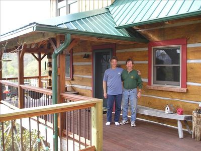 owners and builders - Todd and Jim