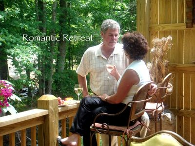 Maggie Valley cottage rental - Romantic Retreat