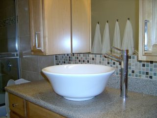 Pacific Beach condo photo - Vessel Sink in Bath