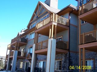 Mont Tremblant condo photo - Les Falaise -- our Condominium, right on mountain