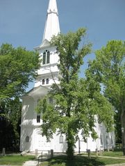 Little Compton house photo - Congregational Church in Town Commons - Host the Church Fair Every July...