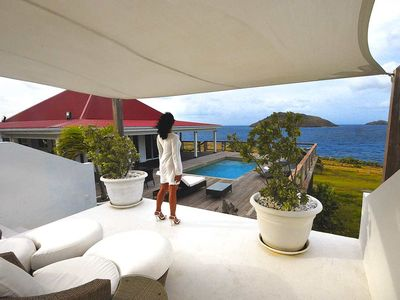 St Barthelemy villa rental - Villa West Indies... Concept inspirated by creole architecture of St. Barth's