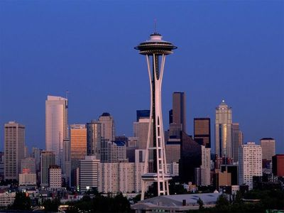 Seattle house rental - Space Needle - Seattle's Most famous and Major landmark is just a walk away!