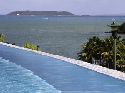 View of the east toward the sea from complex infinity pool of complex