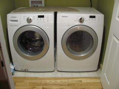 Brand new Washer and dryer on the main level for easy access!