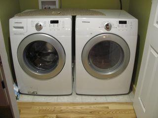 Manchester house photo - Brand new Washer and dryer on the main level for easy access!