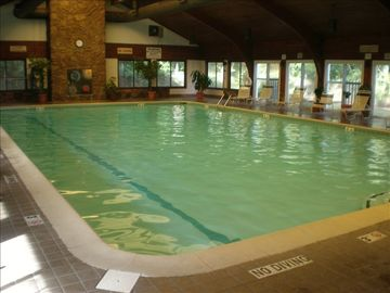 Indoor heated pool at Ocean Dunes Recreation Center
