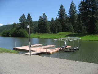 Coeur d 'Alene house photo - New Dock! -2010
