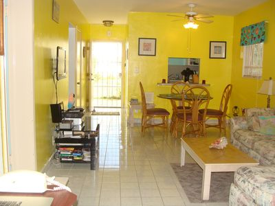 Grand Bahama Island condo rental - Comfortable and Spacious Living & Dining - A Great Place to Unwind