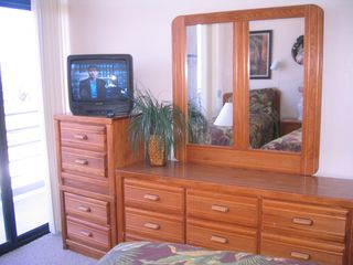 South Padre Island condo photo - 2nd bedroom has lots of storage and a private bathroom.
