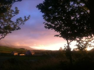 County Mayo cottage photo - Sunset at Carrowholly Cottage