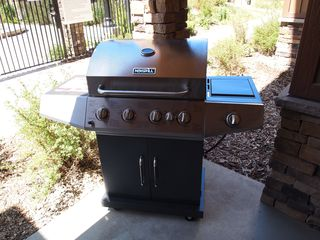 Bear Hollow Village condo photo - Private four burner propane BBQ