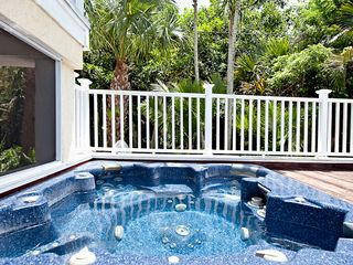 Sanibel Island house photo - Spa attached to lower level lanai