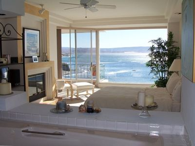 View from Master Bedroom and Jacuzzi Tub