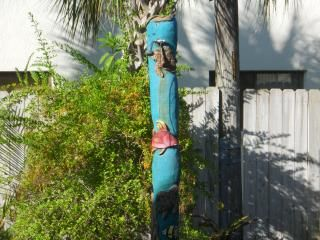 Cocoa Beach condo photo - There is a tiki shower in the courtyard to wash off the soft Cocoa Beach sand