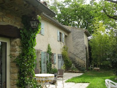 Provencal farmhouse is 20 minutes walk from the village center.