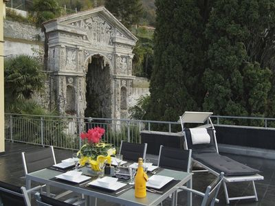 Varenna apartment rental - Della Fontana's Terrace