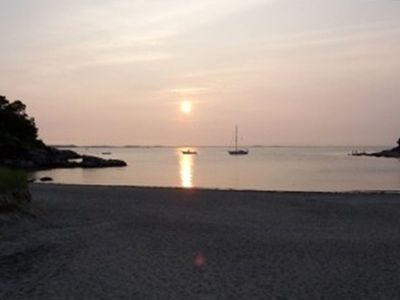 Spectacular Sunsets at Plum Cove Beach!