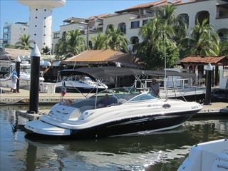Troncones villa photo - Sea Ray 240 for rent in Ixtapa Marina with Captain & water toys