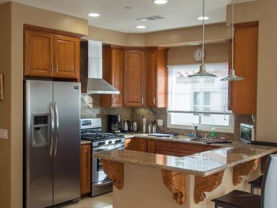 Modern New Kitchen with SS appliances