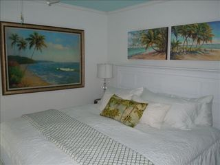Wrightsville Beach cottage photo - King Bed 2