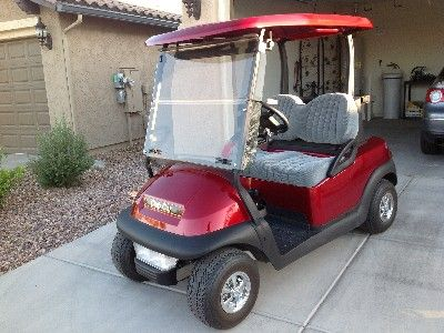 Club Car golf cart for tenant use.