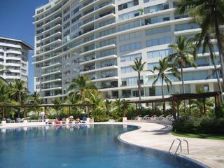 Ixtapa condo photo - Family pool and condo towers