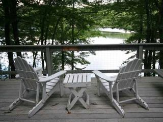 Casco cottage photo - Comfortable Adirondack chairs