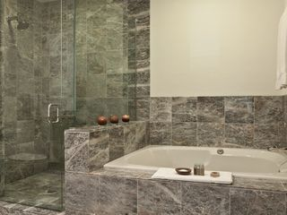 Sun Valley hotel photo - Beautiful marble tiled bathrooms in every room