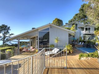 Back of house from as seen from outdoor kitchen. - Tiburon house vacation rental photo