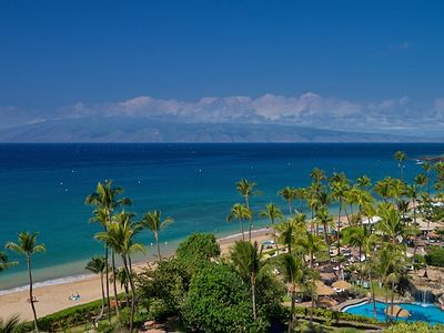 Spectacular view from Lanai