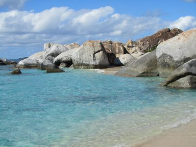 One of nature's beauty you won't want to  miss; The Bath's at Virgin Gorda.