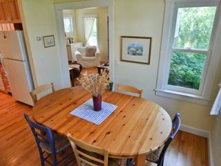 Edgartown house photo - Dining Area Opens To One Of 2 Covered Porches