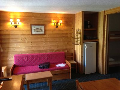 apartment of 1 to 7 people 40m2 two alps 1800