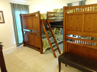 Gulfport house photo - Bunk Bed Rm Sleeps 6, 4 (2 on each of the lower bunks) + 1 ea in the top bunks