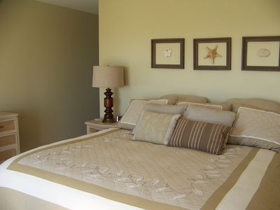 Master bedroom #1, king bed, main level, oceanfront
