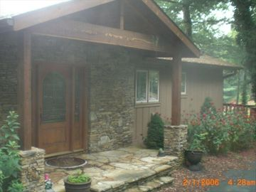 Highlands house rental - ENTRANCE