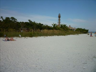 Beautiful Sanibel beach