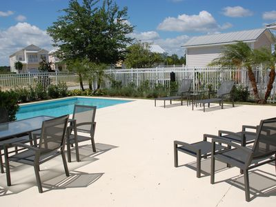 Ample Pool Loungers | FREE Weber BBQ use | Outdoor Dining Set