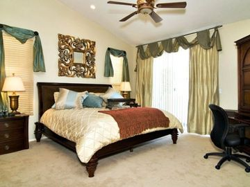 Chandler house rental - Luxury Master Bedroom - Comfy KING bed and TV