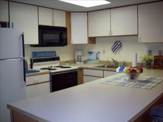 Royal Hawaiian Ocean City condo photo - Fully equipped kitchen