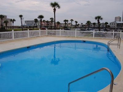 Gulf Shores townhome rental - The newly renovated pool is right behind the unit