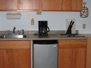 Steuben house photo - The apartment Kitchenette.