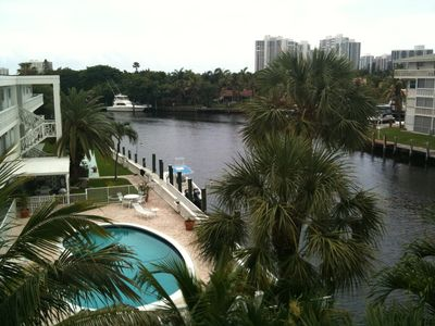 View from Pool Deck overlooking Inter-coastal Waterway