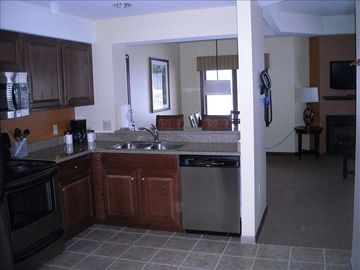 Kitchen - granite countertops, andstainless steel appliances